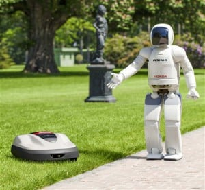 robot honda miimo